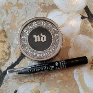 Urban Decay Blackout eyeshadow Makeup Forever